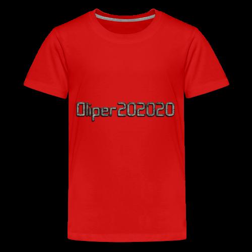 Oliper202020 cracked stone - Teenager premium T-shirt