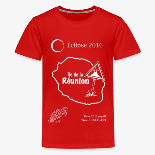 Eclipse 2016 Reunion - Teenager Premium T-shirt