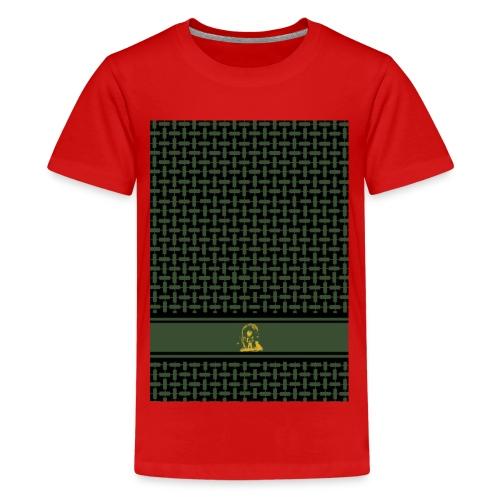 PaliPhone BLACK OLIV - Teenager Premium T-Shirt