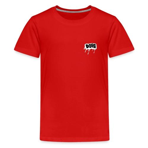 DOPE bubble letters - Teenage Premium T-Shirt
