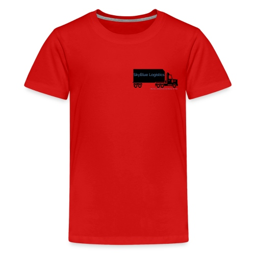 SkyBlue Logistics - Teenage Premium T-Shirt