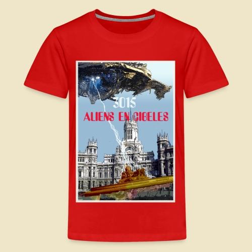 PLAZA DE CIBELES - Camiseta premium adolescente