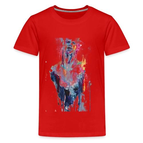 painting half man - Maglietta Premium per ragazzi