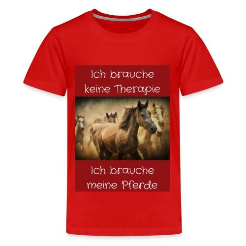 Pferde Tierfreunde, Geschenke, M50, s.unten - Teenager Premium T-Shirt