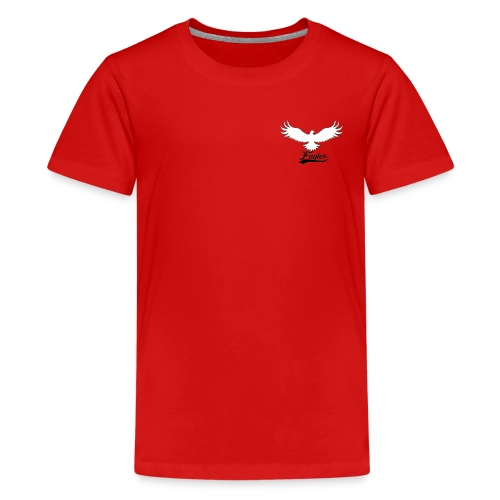 Eagles logo design - Teenage Premium T-Shirt