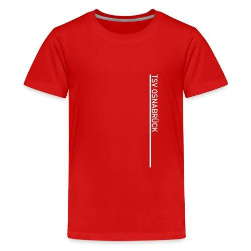 TSV-Logo vertikal - Teenager Premium T-Shirt