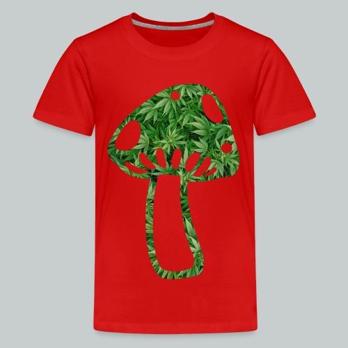 mushroom power - Teenager Premium T-Shirt