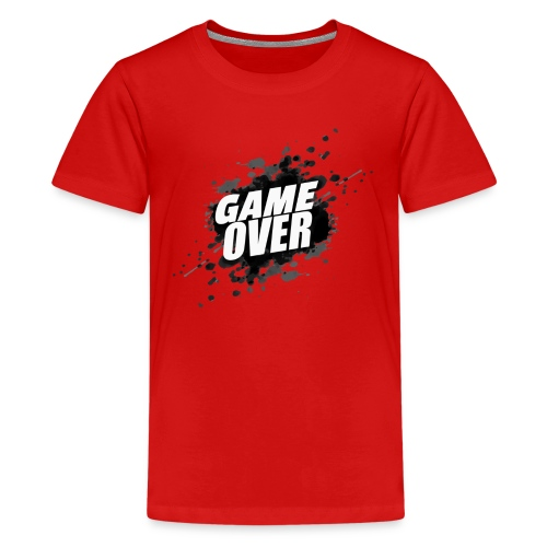 game over - Camiseta premium adolescente