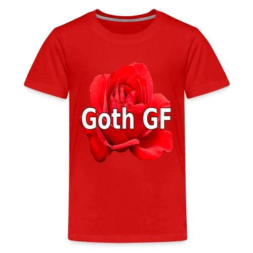 Goth GF - Teenager Premium T-Shirt