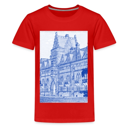 Oxford Architecture Design - Teenage Premium T-Shirt