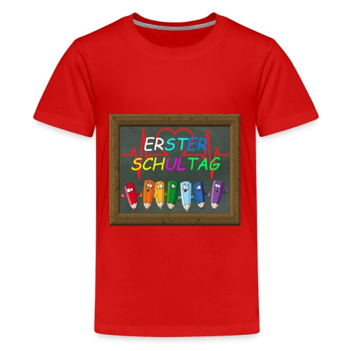 Schule - Teenager Premium T-Shirt