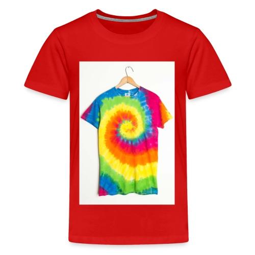 tie die - Teenage Premium T-Shirt