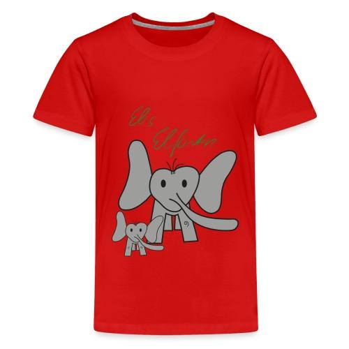 Eles Elefanten - Teenager Premium T-Shirt
