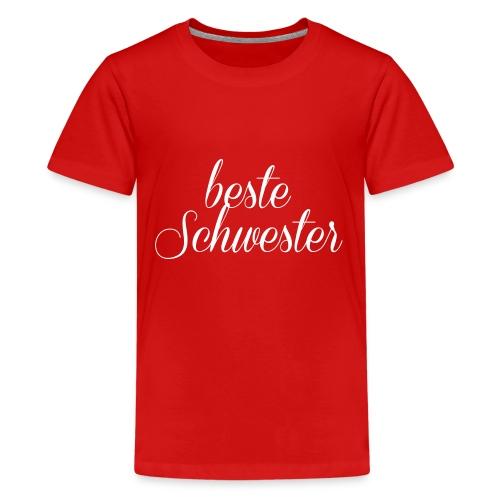 Schwester - Teenager Premium T-Shirt