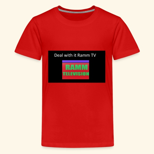 Deal it with Ramm TV - Teenager Premium T-Shirt