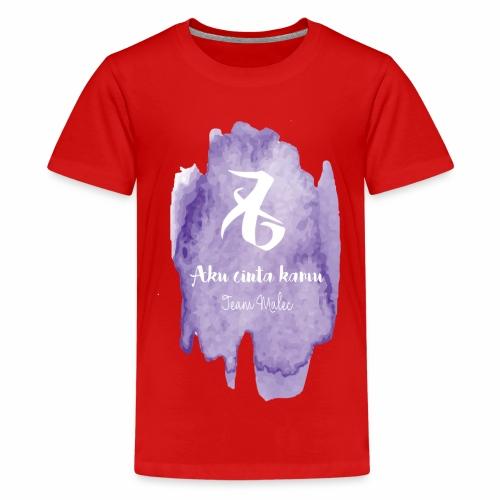Aku cinta kamu - Teenager Premium T-Shirt