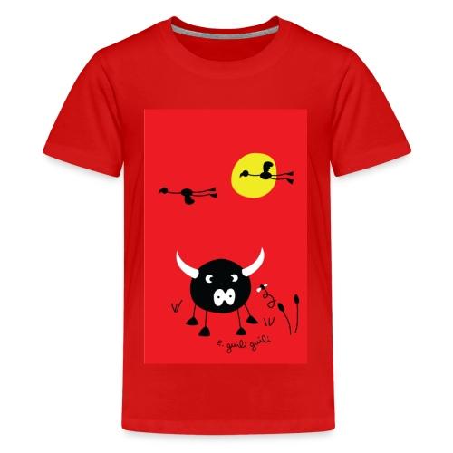 rouge camargue - T-shirt Premium Ado