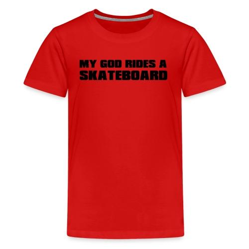 skateboard - T-shirt Premium Ado