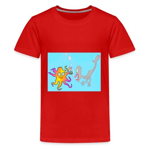 Unter Wasser - Teenager Premium T-Shirt