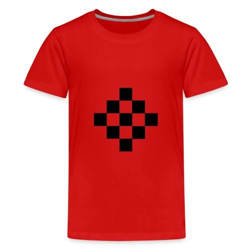 quadrillage - T-shirt Premium Ado