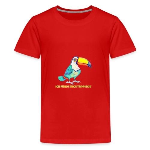 Tropisch - Teenager Premium T-Shirt