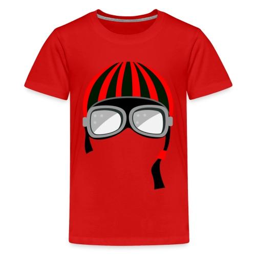 red_helmet-png - Maglietta Premium per ragazzi