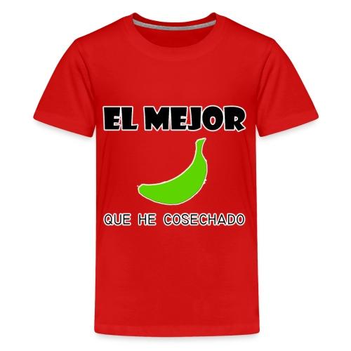 plátano verde - Camiseta premium adolescente