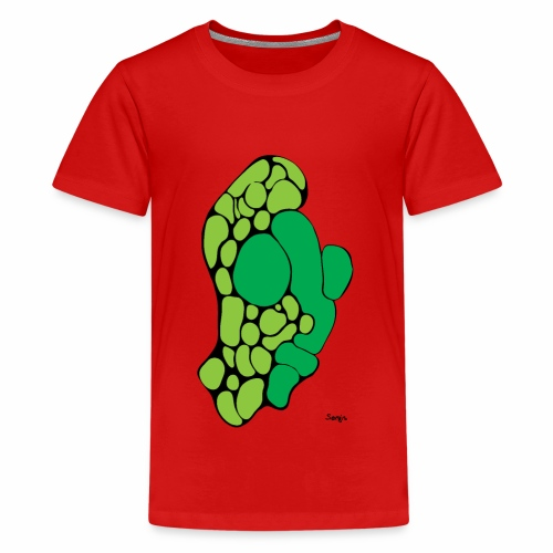 green man - Teenage Premium T-Shirt