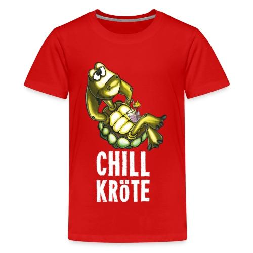 Chillkröte - Teenager Premium T-Shirt