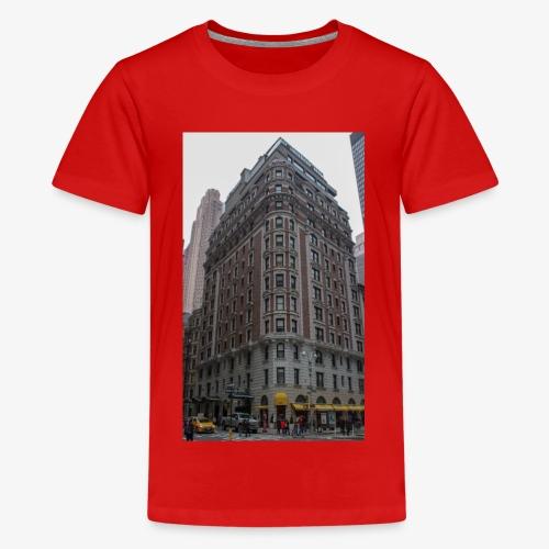 ein Haus in New York - Teenager Premium T-Shirt
