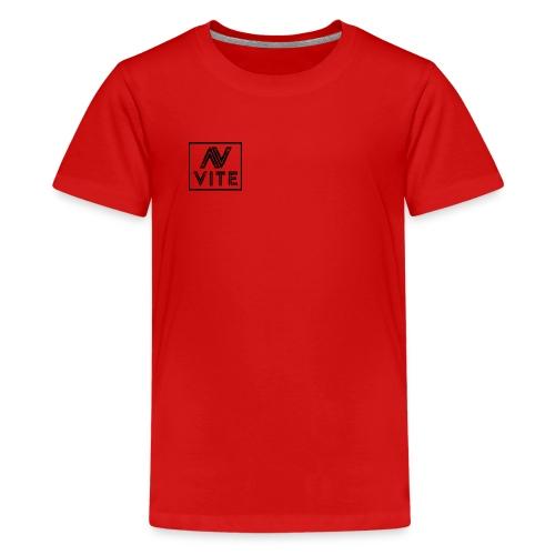 Dark logo transparent background - Teenager premium T-shirt