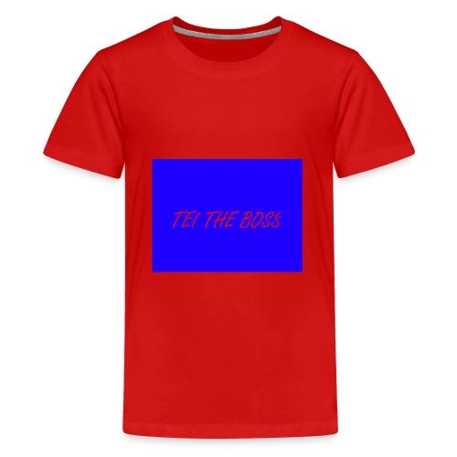 BLUE BOSSES - Teenage Premium T-Shirt