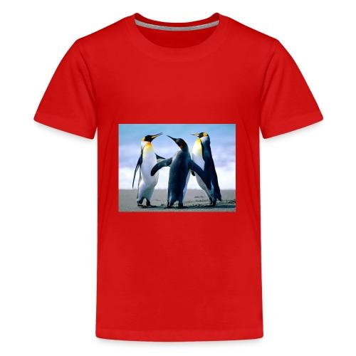 penguin squad - Teenage Premium T-Shirt