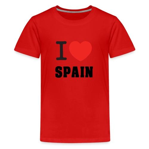 I love spain - Camiseta premium adolescente