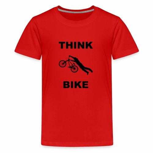 THINK BIKE - Teenage Premium T-Shirt