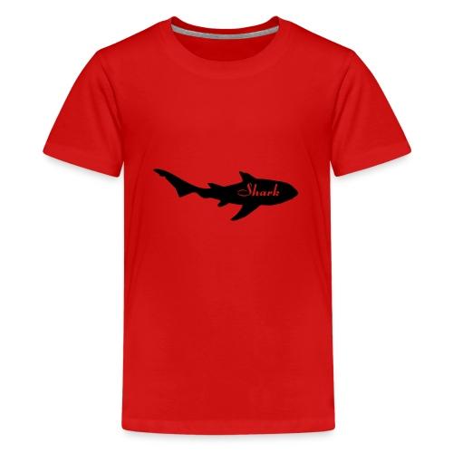 Tiburon logo - Camiseta premium adolescente