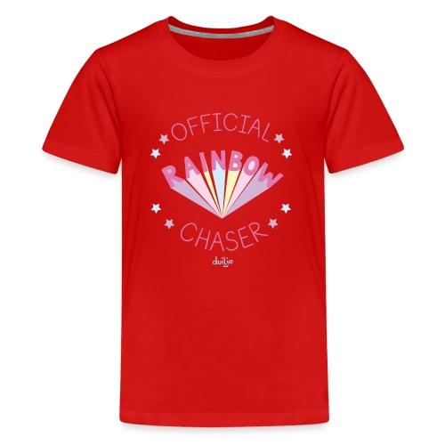 duilio rainbow chaser - Teenager Premium T-Shirt