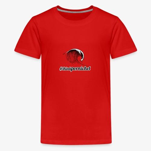 Vague Wave Thinkpornichet by DesignTouch - T-shirt Premium Ado