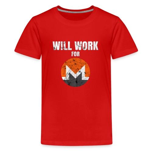 XMR T-Shirt - Teenager Premium T-Shirt