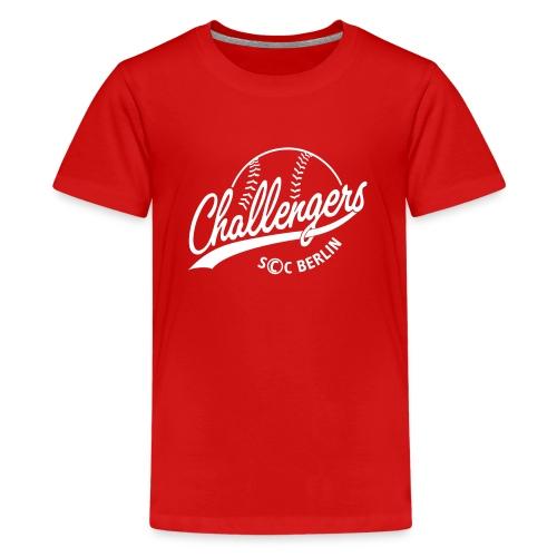 Challengers Logo - Teenager Premium T-Shirt