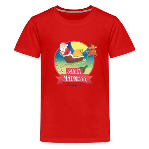 Santa Madness winner - Maglietta Premium per ragazzi