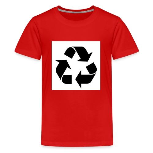 maglia ciclo di vita - Maglietta Premium per ragazzi