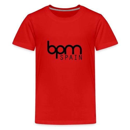 LOGO_NEGRO_BPM_SPAIN-png - Camiseta premium adolescente