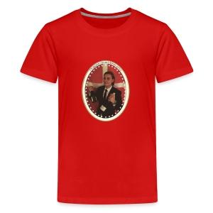skjærrispresident - Premium T-skjorte for tenåringer