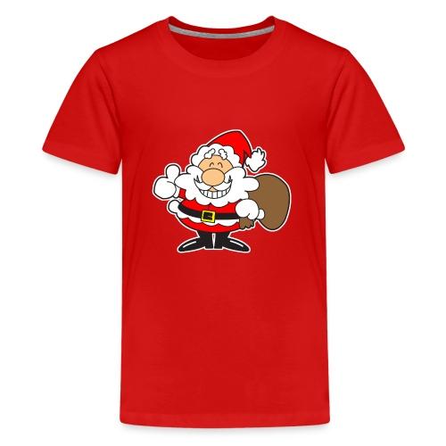 Santa_Cool01-png - Camiseta premium adolescente