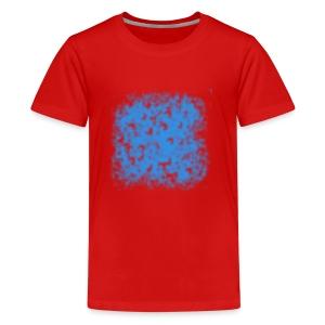 blaue wolke - Teenager Premium T-Shirt