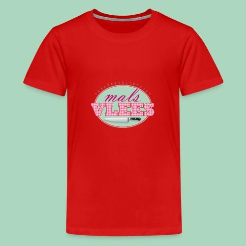 Theatercollectief Mals Vlees logo - Teenager Premium T-shirt