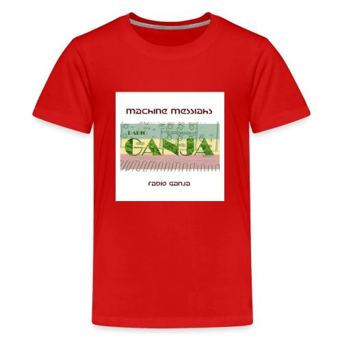 radio ganja - Teenage Premium T-Shirt