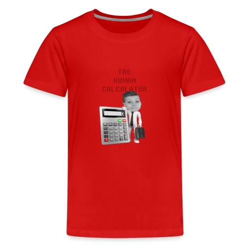The Human Calcutor - Premium-T-shirt tonåring