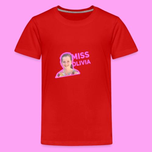 MissOlivia kindermerch - Teenager Premium T-shirt